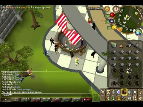 Runescape Steel Bar Superheat 400k/h profit