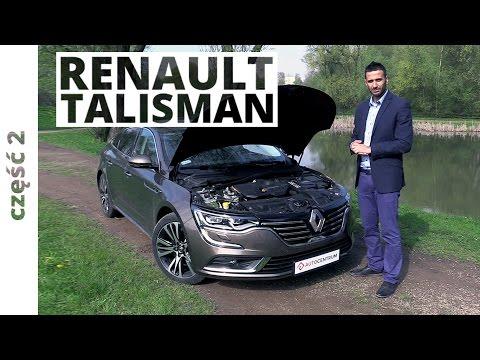 Renault Talisman 1.6 Energy TCe 200 KM, 2016 - techniczna część testu #267