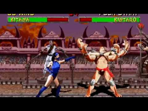Mortal Kombat 2 - Beating Kintaro and Shao Kahn