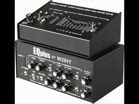 HAM RADIO W2IHY 8 BAND EQUALIZER & EQPLUS