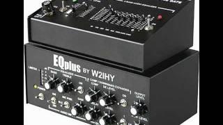 HAM RADIO W2IHY 8 BAND EQUALIZER & EQPLUS