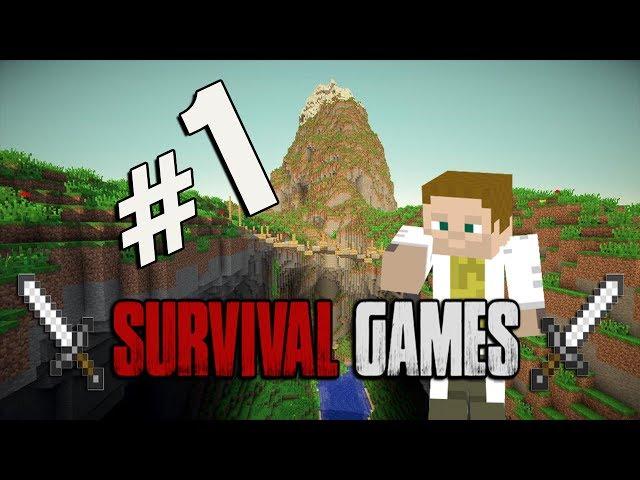Survival-Games.cz - Minecraft Survival Games - #1 - Au :(