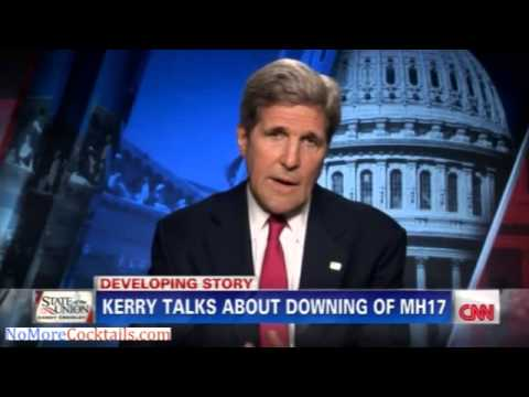 John Kerry: US detected the missile launch from Ukraine and observed it hitting Flight MH17