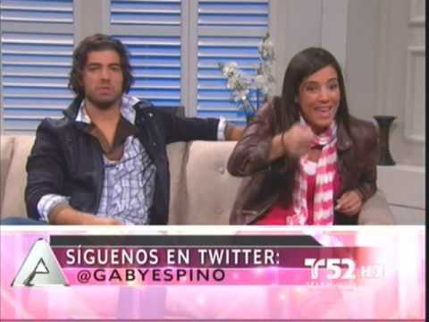 Acceso Total Feb 11 - Jencarlos Canela y Gaby Espino Parte 2 Video
