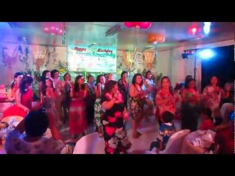 Hawaiian Dance~pearly Shell Tiny Bubbles Remix(11 24 12) video