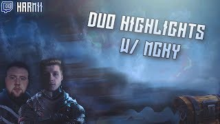 Duo Practice Tournament w/MckyTV Highlights | Harmii