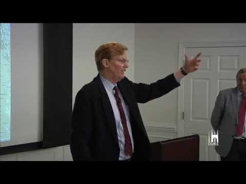 Joshua Landis discusses Syria with Duke audience