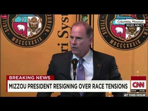 MISSOURI UNIVERSITY FOOTBALL PLAYERS FORCE RACIST PRESIDENT TO RESIGN