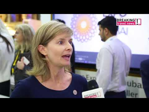 Gillian Hamburger, senior vice president, commercial, Expo 2020