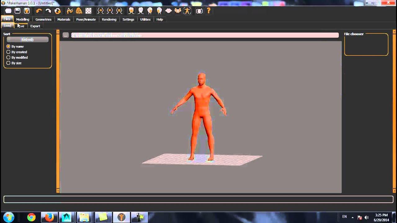 Как легко создать 3D персонажа. - YouTube