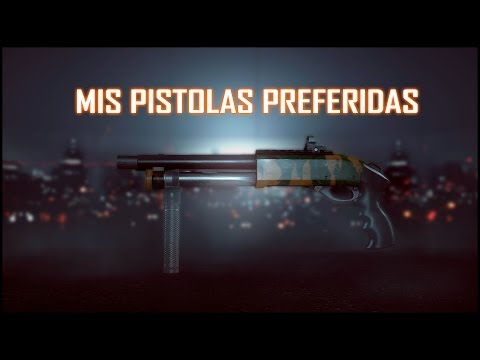 Mis Pistolas Preferidas!!   Battlefield 4
