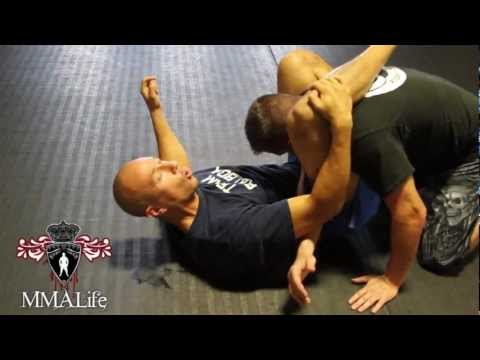 MMA Grappling: How to do a triangle choke Image 1