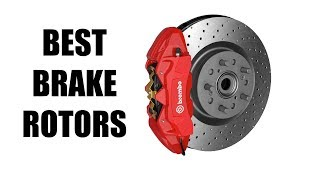 Drilled, Slotted & Vented Brake Rotors - What