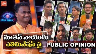 Bigg Boss 2 Telugu Public Response on Nutan Naidu Elimination | Nani Bigg Boss 2