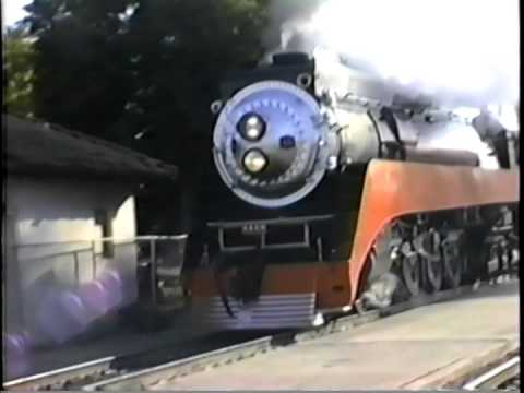 SP 4449 thru Santa Barbara 1989