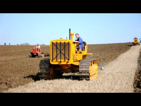 Caterpillar Seventy Five ploughing at Little Casterton Music Videos