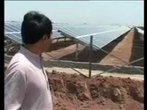 Narendra Modi Will Dedicate Asia's Biggest Solar Power Plant To The Natio.wmv video