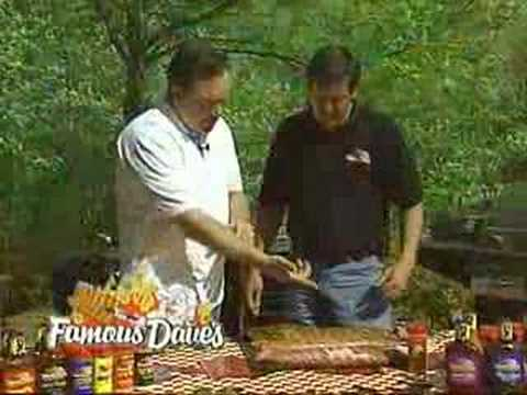 Famous Dave's Que Tips Award Winning Ribs - Recipe
