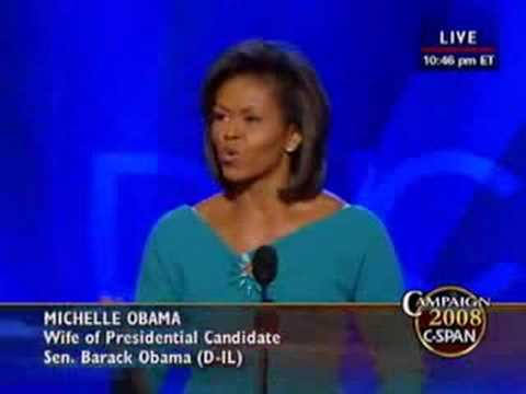 Michelle Obama Keynote Address at DNC