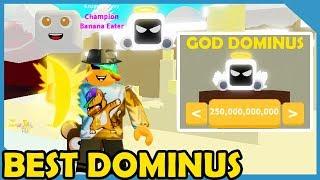 I Got The God Dominus Pet In Roblox Banana Simulator
