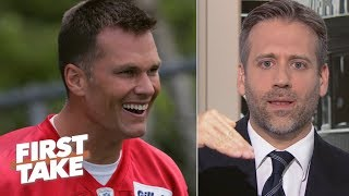 Tom Brady responds to Max Kellerman's 'cliff theory' | First Take