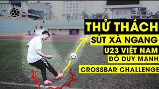 Crossbar Challenges with Football Friend