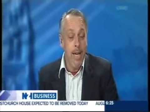 Best Investor Website (BIWA) 2009 featured on New Zealand TV News