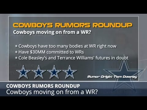 Cowboys Rumors: Dez Bryant Staying, Cutting Or Trading A WR, Earl Thomas Trade And The NFL Draft