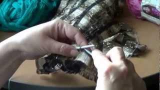 Вязание из ленточной пряжи Bolero