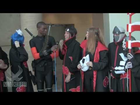 THE AKATSUKI ORGANIZATION - Naruto Cosplay at Otakon