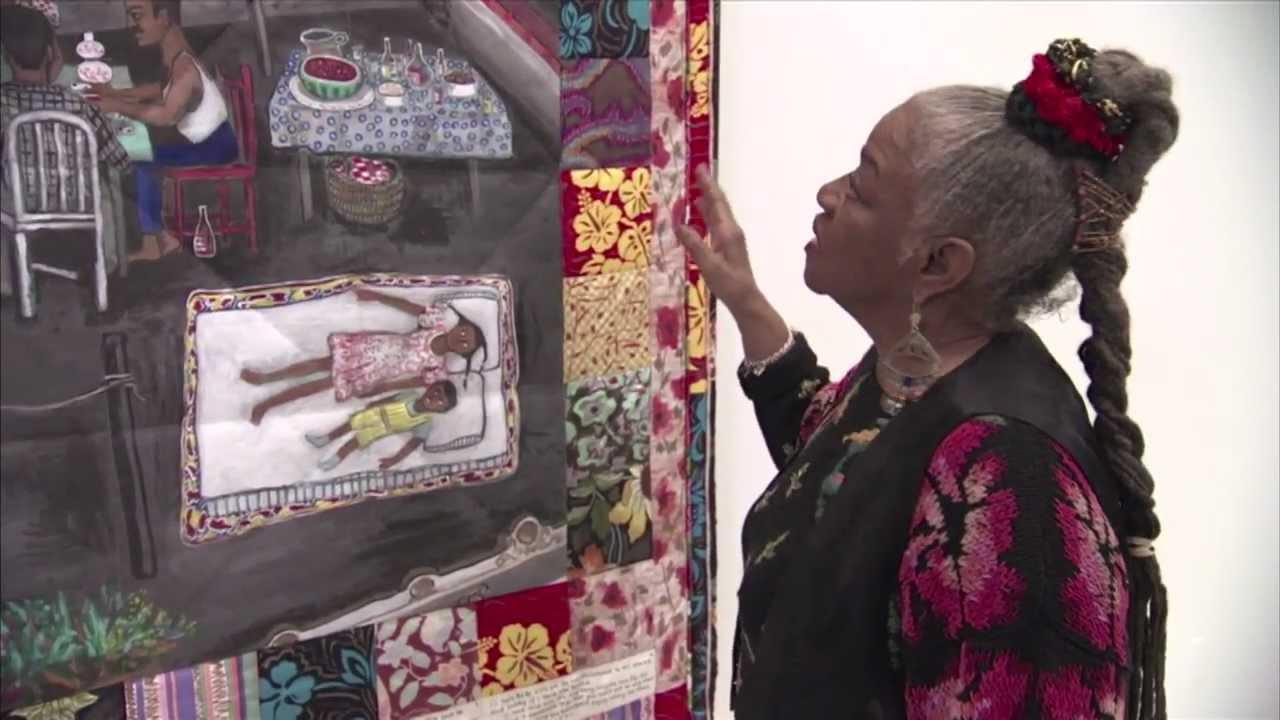 Artist Faith Ringgold Talks About The Process Of Creating