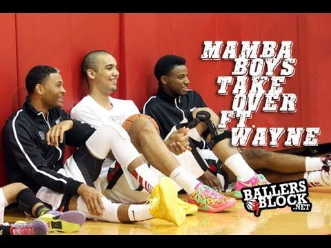 James Blackmon Jr., Trey Lyles, & JaQuan Lyle - Mamba Boys TAKE OVER Ft. Wayne!!!