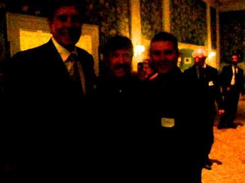 Chuck Norris, Rudy Tomjanovich and Samir Becic