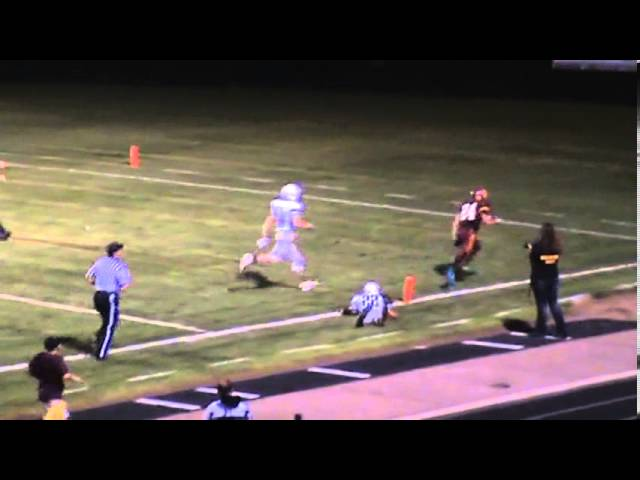 8-30-13 - Randy Baker finds the end zone from 25 yards out (Brush 20, Wray 0)
