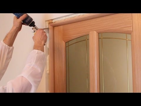 Как правильно установить межкомнатную дверь