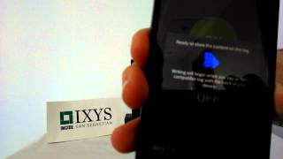 IXYS relay controlled by NFC protocol