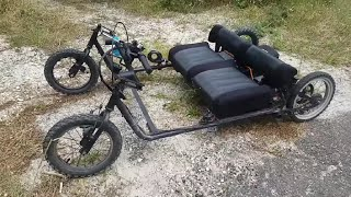 how to make  electric car part 4 (38km/h 1000w)