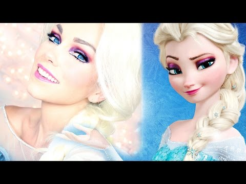 Elsa Frozen Makeup