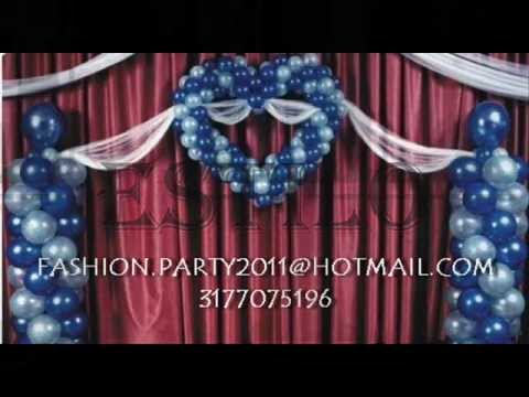 DECORACION EN GLOBOS FIESTAS Y EVENTOS BOGOTA FASHION PARTY