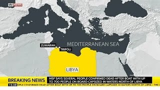 Good News: Invader Boat Carrying Up To 700 People Capsizes