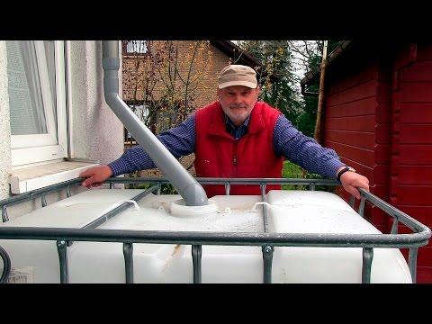 Meine Regenwasser Anlage Gewachshaus Hochbeet Perfekt Film 5