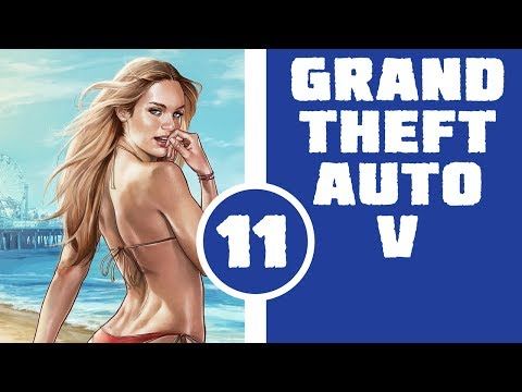 Let's Play Grand Theft Auto V - Part 11 - Celebrity Sex Tape Turned Car Chase video