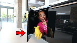 HIDE AND SEEK SLIME GLOVES CHALLENGE!!