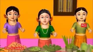Thotakura gongura kids Song by Remix gajala