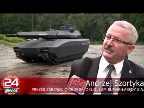Новый польский танк PL 01 Concept