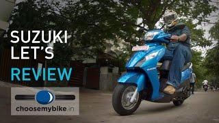 Suzuki Let's : ChooseMyBike.in Review