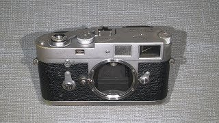 Sticky film advance in Leica M2 (maybe other issues or broken parts)