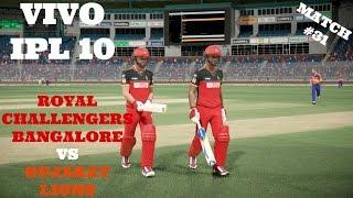Download VIVO IPL 10 : RCB VS GL : MATCH 31 3Gp Mp4