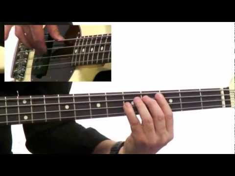 50 Bass Grooves - #1 Shuffle In G - Bass Guitar Lesson - David Santos video