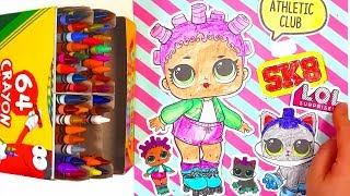 How to paint LOL surprise Doll | Drawing and Coloring for Kids | Toy Tube[토이튜브]